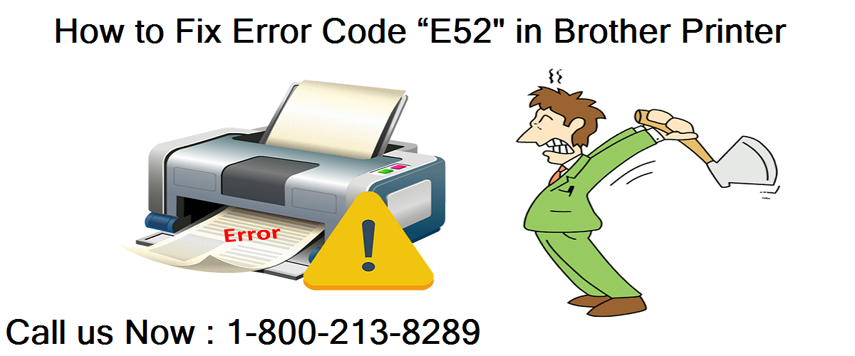 "How to Fix Error Code ""E52"" in Brother Printer"