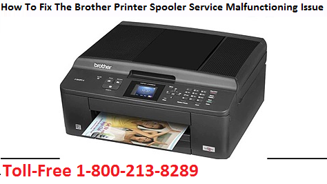 How To Fix The Brother Printer Spooler Service Malfunctioning Issue