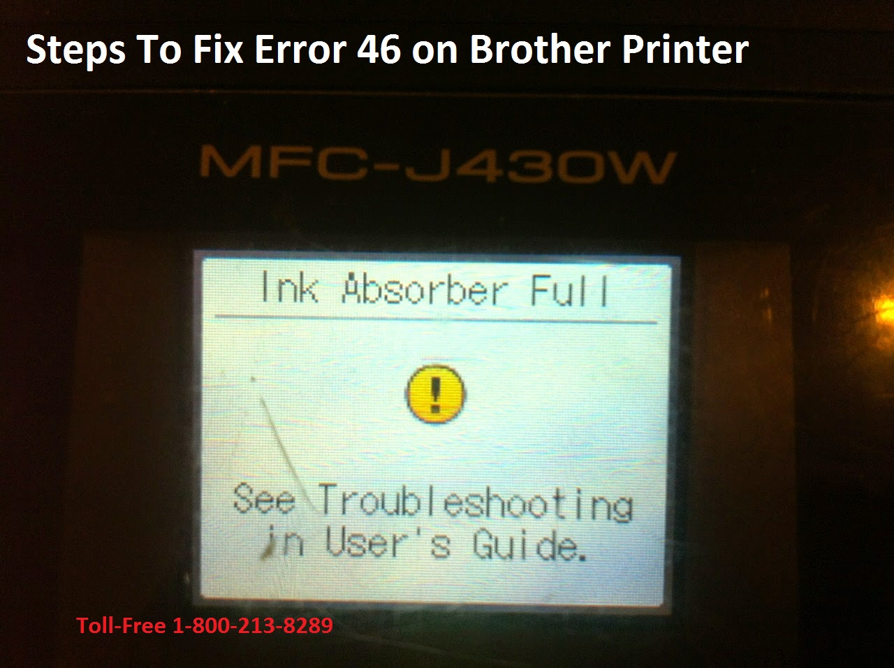 Fix Error 46 on Brother Printer