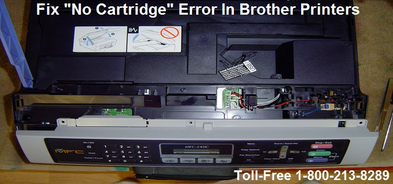 Brother cartridge error
