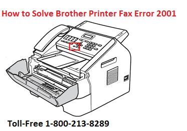 How to Solve Brother Printer Fax Error 2001