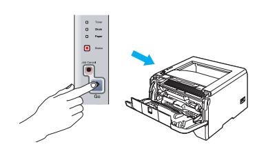 How to Fix Brother Printer hl 2270DW Drum Light Error