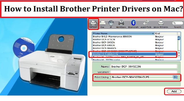 Install Brother Printer Drivers on Mac