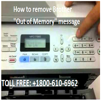 Brother Out of Memory message