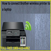 Brother wireless printer to a laptop