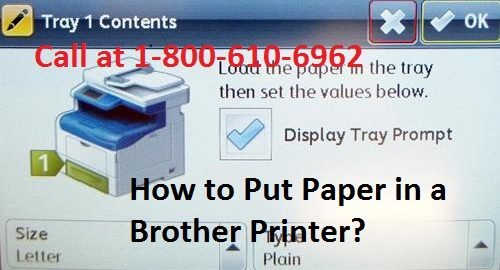 How to Put Paper in a Brother Printer