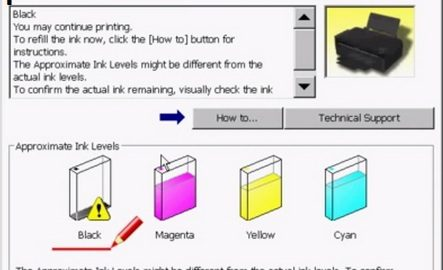 How to Reset Brother printer Ink Level