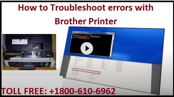 Troubleshoot errors with Brother Printer