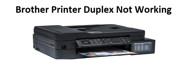 Brother Printer Duplex Not Working